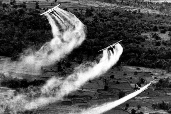 U.S. sprayed Agent Orange during the Vietnam War.