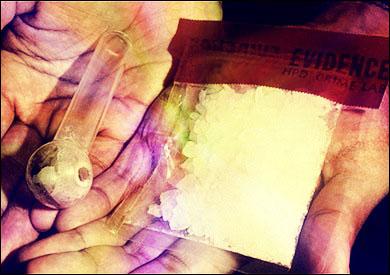 Methamphetamine.