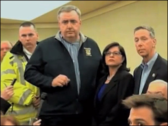 Commissioner Davis takes questions in aftermath of Boston bombing.