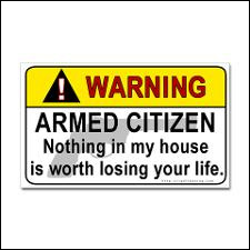 Group hopes to deter criminals by arming residents.