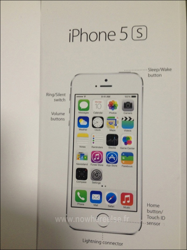 Supposed manual for phone has leaked at Nowwhereelse.fr.