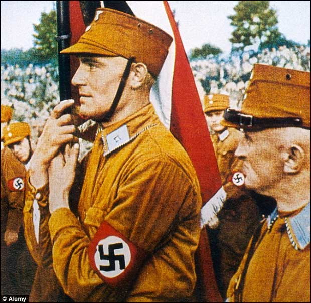 Hugo Boss reportedly manufactured uniforms for the German National Socialist Party.