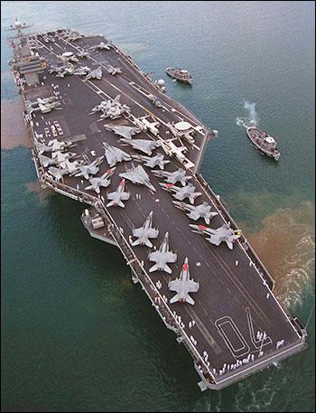 USS Nimitz. Photo: fas.org