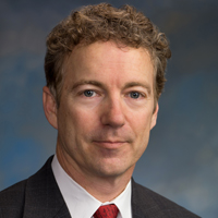 Sen. Rand Paul (R-Ky.), the son of Ron Paul, won the straw poll with 31% of the vote.