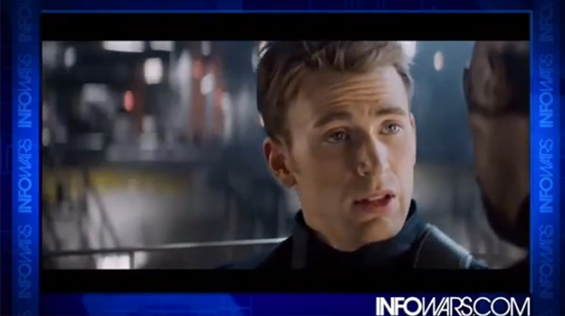 Captain America defends freedom in new film.