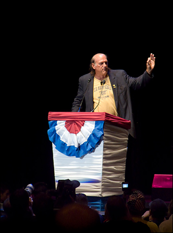 Ventura at the Rally for the Republic in Minnesota on Sept. 2, 2008. Credit: Red Barnes via Flickr