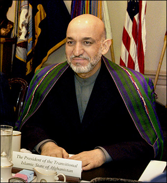 Karzai was a CIA contractor during the 1980s Soviet war in Afghanistan.