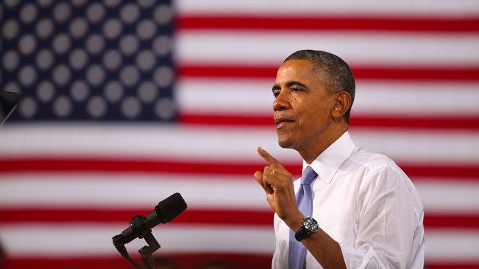 U.S. President Barack Obama.(AFP Photo / Michael Francis McElroy)