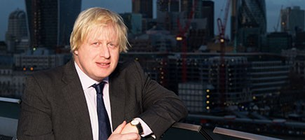 London Mayor Boris Johnson, via london.gov.uk.