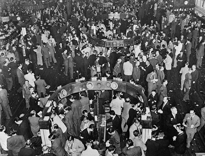 The real Black Friday, October 29, 1929.
