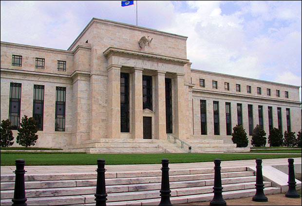 Federal Reserve headquarters in Washington, DC.