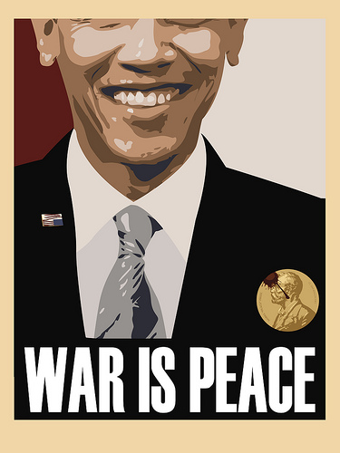 Infowars Awards Obama 2nd Nobel Peace Prize