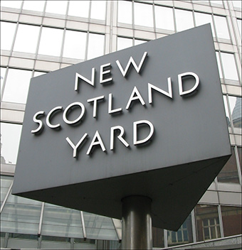 British law enforcement are using a broad interpretation of a terrorism law to harass journalists.