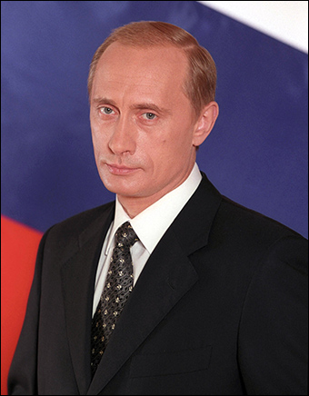 Vladimir Putin is the fourth and current president of Russia. Credit: kremlin.ru