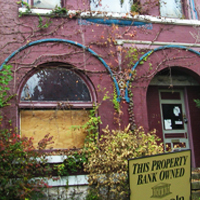Foreclosure signs are not only frequently seen in the U.S. but now globally. Credit: W.marsh via Wikimedia