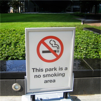The city council tasked park rangers with enforcing the ban. Credit: LoopZilla via Flickr