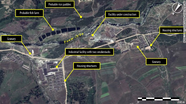 In June 2010, an image of the political prison camp known as Kwanliso 16 shows a new facility under construction.