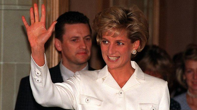 Diana, the late Princess of Wales (file photo)