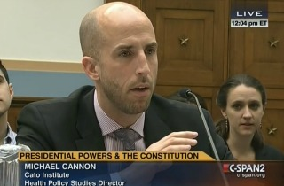 Cato Institute's Director of Health Policy Studies Michael Cannon