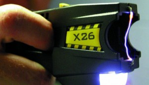 ACLU of Texas calls to ban Tasers and pepper spray.