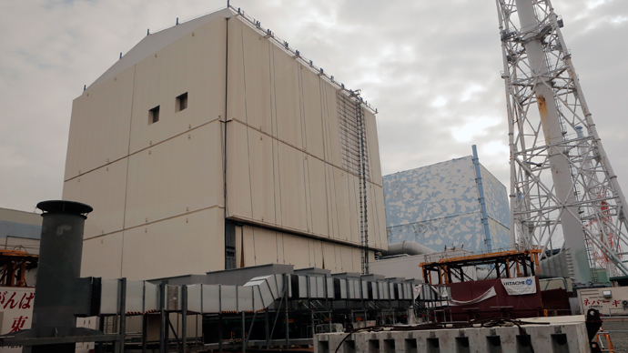 No. 2 reactor buildings of the crippled Fukushima Dai-ichi Nuclear power plant (AFP Photo / Pool)