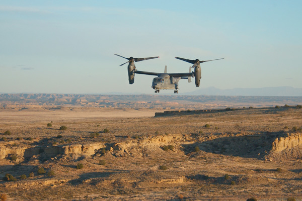 Boeing CV-22 Osprey: Photo Credit: Jamie Darcy of NAVAIR