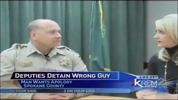 """We went to the wrong house yes…"" Sheriff Ozzie Knezovich admits."