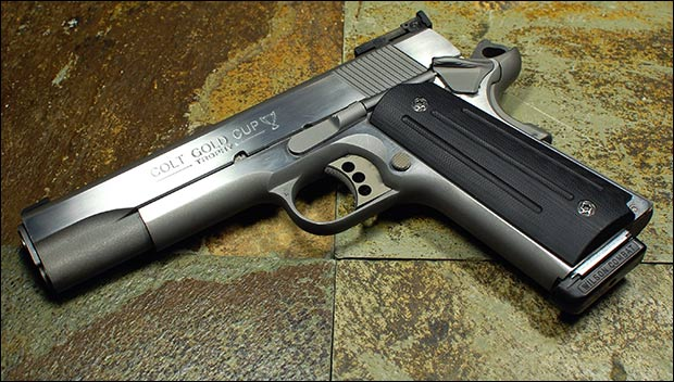 A century after it's introduction, 1911s continue to be top choices for concealed carry. Credit: Brett via Flickr