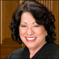 It is not know when Justice Sonia Sotomayor, pictured here, will make a full decision.