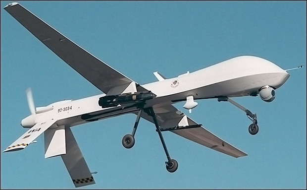 Predator drones will become much more common in America's skies in the next five years.