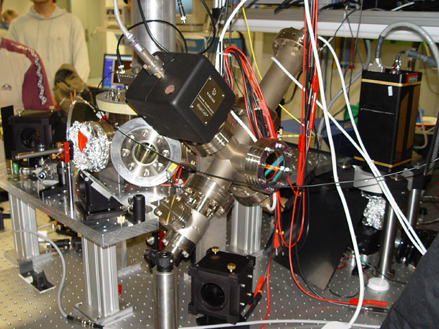 An ion trap, used with a quantum computer. Photo: Wikimedia Commons