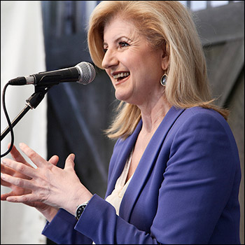 Arianna Huffington pocketed ten of millions when she sold citizen journalist platform Huffpo to AOL. Photo: C2-MTL