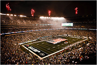 MetLife Stadium, August 2010 / via Wikimedia Commons