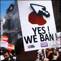 A Turk protesting Internet censorship in 2011. Credit: Erdem Civelek via Wiki