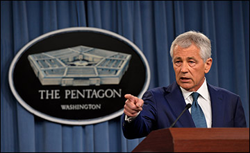 "U.S. Sec. of Defense Hagel said there is no ""one simple answer"" to the ethical crisis gripping the US military."