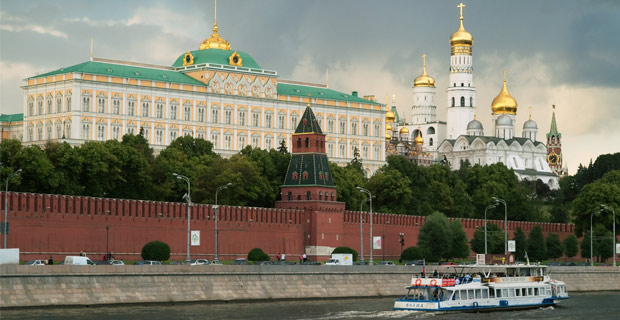 The Kremlin's existing walls and towers were built in the late 15th century. Credit: NVO / Flickr