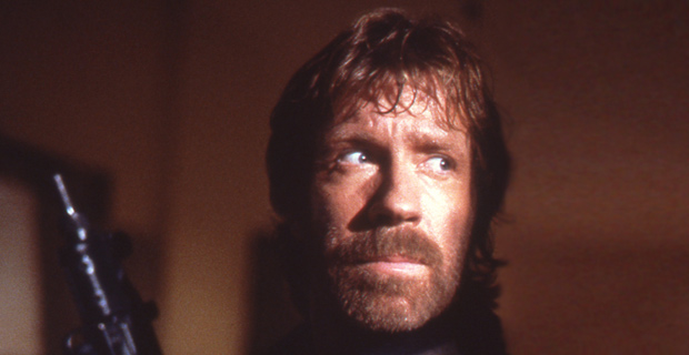 Chuck Norris in The Delta Force. Credit: Yoni S.Hamenahem / Wiki