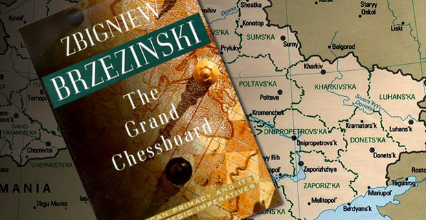 """""""Ukraine, a new and important space on the Eurasian chessboard, is a geopolitical pivot because its very existence as an independent country helps to transform Russia. Without Ukraine, Russia ceases to be a Eurasian empire."""" -- Zbigniew Brzezinski"""