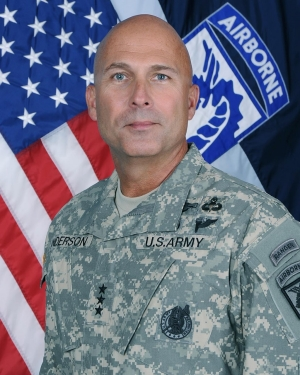 Lt. Gen. Joseph Anderson, formerly commander at Fort Carson, Colo., is now commander at Fort Bragg, N.C. US Army