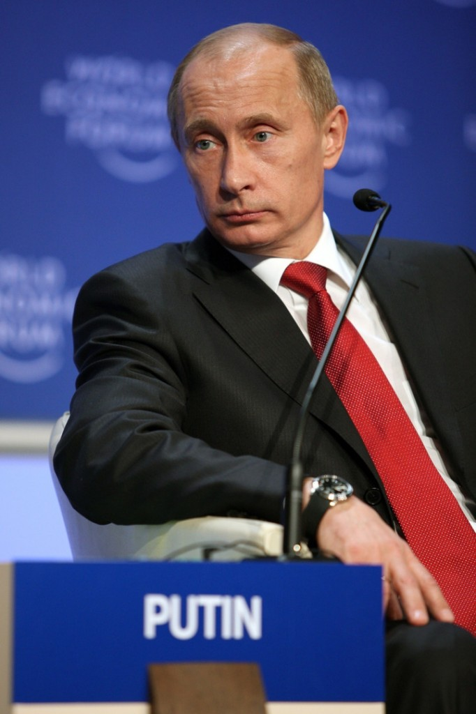 It now appears that Putin's personal retaliation has been leaked in advance. Photo: Economic Forum