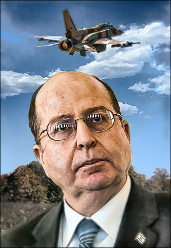 """Israel's defense minister, Moshe Ya'alon: """"Nobody will replace the United States as global policeman. I hope the United States comes to its senses."""""""