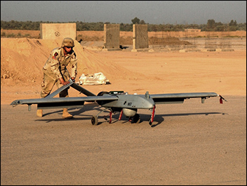 Shadow UAV in Iraq