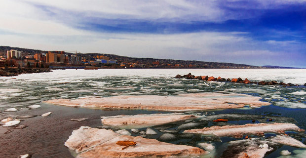 """Global Warming:"" Lake Superior Experiences Record Ice In May"