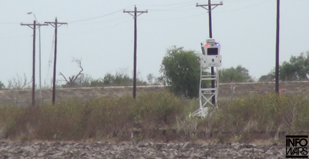 Border Highway Heavily Patrolled by State and Local Police - But Not Border Patrol