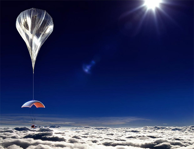 Lift Off for Space Tourism Balloon