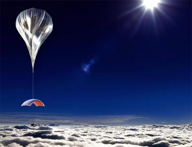 Balloon prototype via http://worldviewexperience.com/