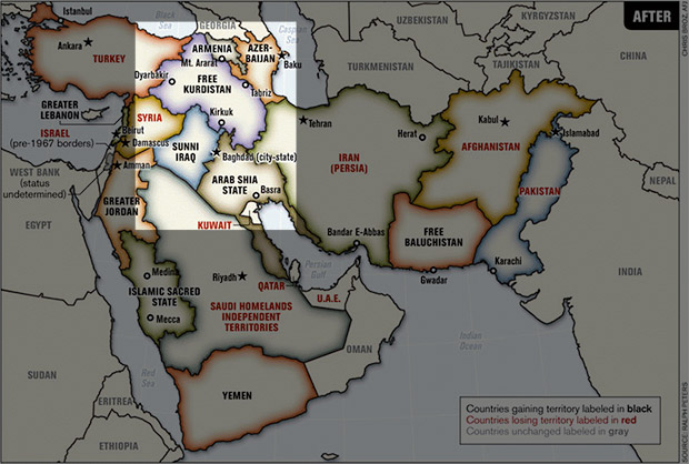 ISIS and the Plan to Balkanize the Middle East