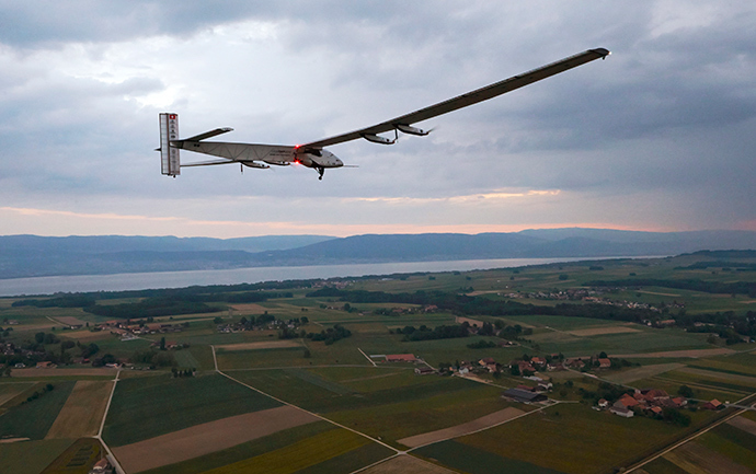 Solar-powered Aircraft Makes Inaugural Flight
