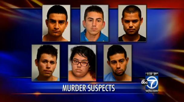 Illegal Alien Gang Members Arrested for Murder of Homeless Man