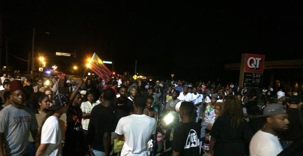 Live: Protesters Assemble Against Ferguson Police